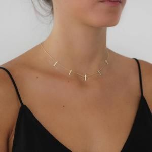Jewelry - Vertical Bar Necklace